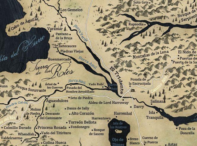 20285 - Casas de Canción de Hielo y Fuego- Tierras de los Rios