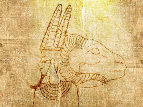 ¿Cómo se llama esta deidad egipcia?