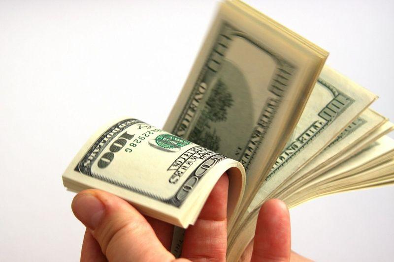 Dinero en mano...
