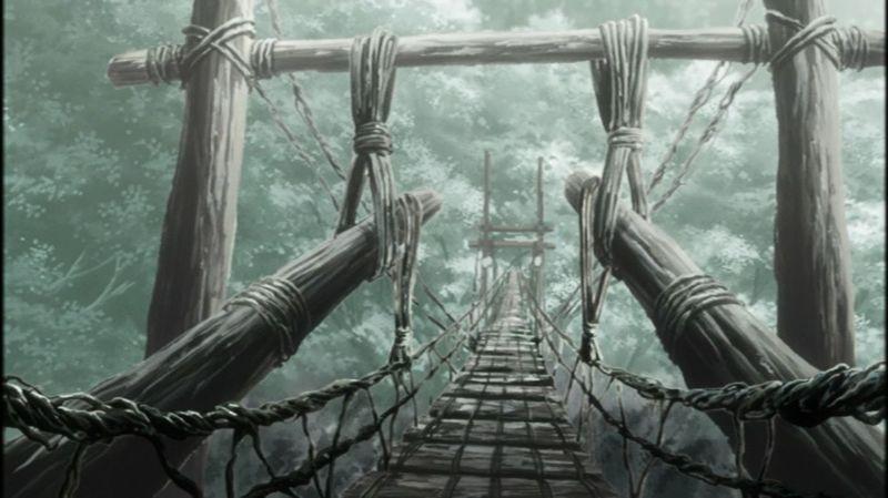 En el episodio 'El puente de una sola noche' ¿Cada cuántos años los Mushis se juntan y forman el puente?