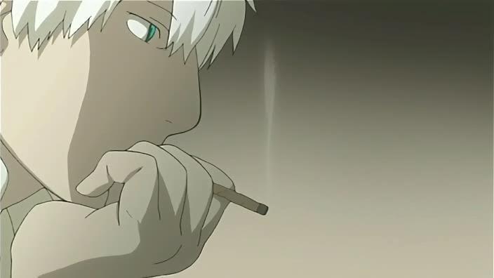 ¿Hay algo especial en lo qué fuma Ginko?