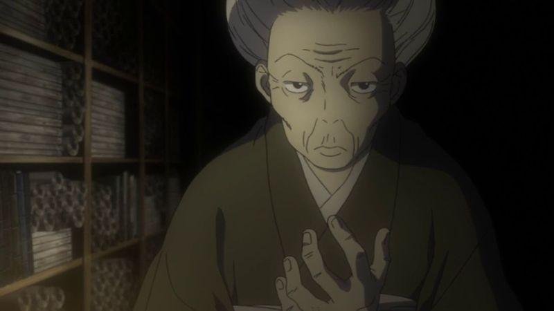 ¿Qué daba Ginko a cambio de poder ver los registros de Mushis de la familia Karibusa?