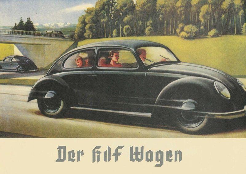 Bien,  comencemos por una pregunta sencilla para abrir el test, ¿que famoso coche fue elaborado por iniciativa Nazi?