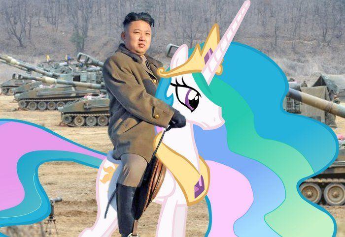 ¿Qué tiene más resultados, My Little Pony o Kim Jong-Un?