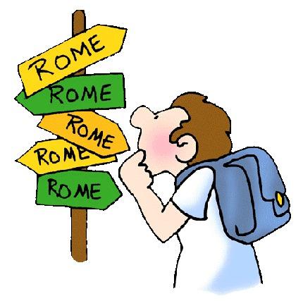 Camino de Roma...