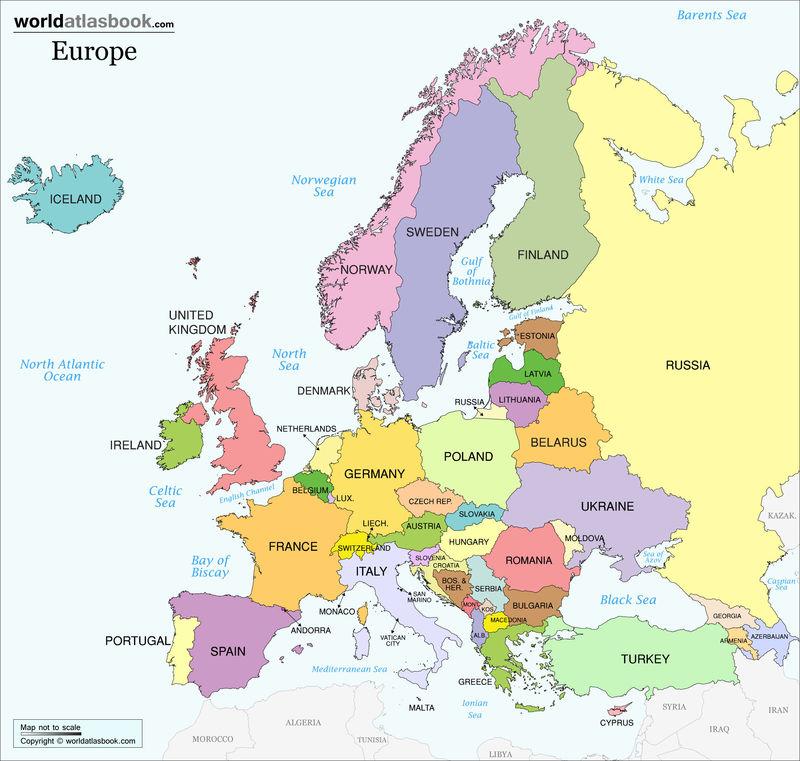 ¿Preferirías más al este o al oeste de Europa?