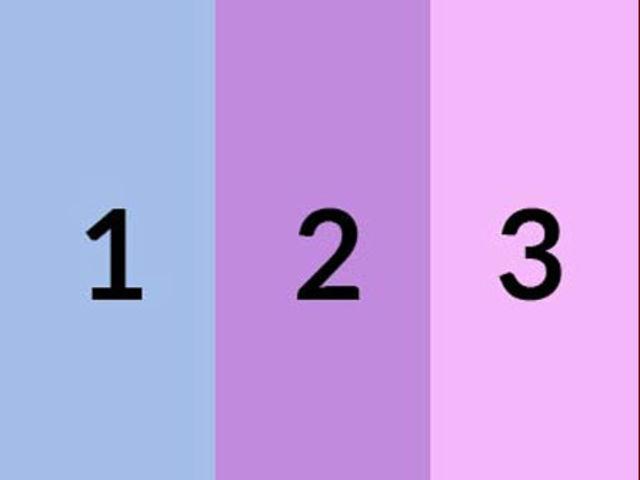 ¿Qué color es más claro?