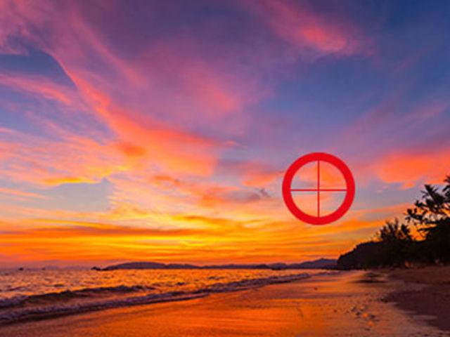 Elige los colores que puedas ver dentro del círculo rojo.