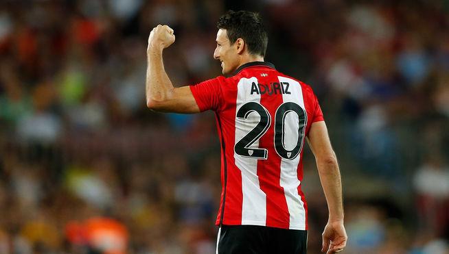 Vámonos con el Bilbao, nombre de Aduriz