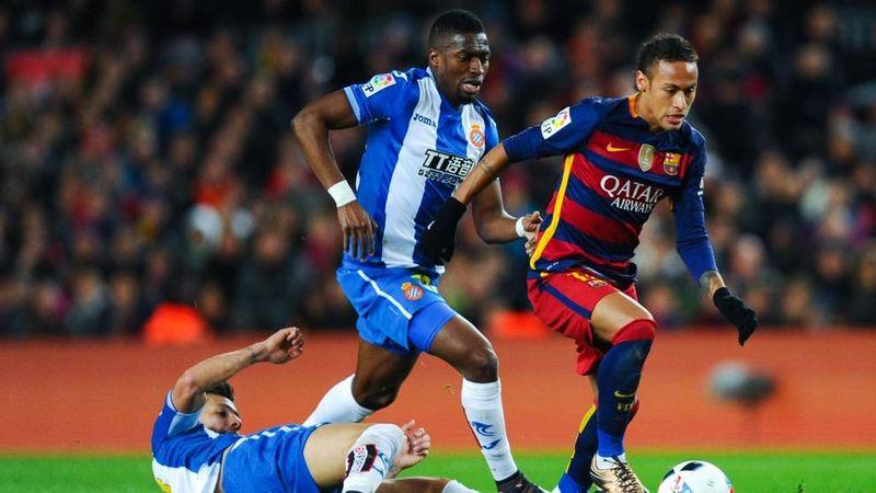 nombre del potente centrocampista del Espanyol, Diop