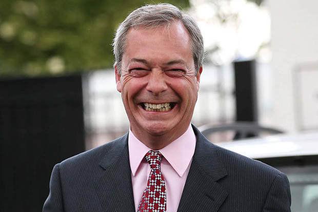 ¿Qué opinión tienes de Nigel Farage?