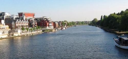 ¿Dónde está el río Támesis?