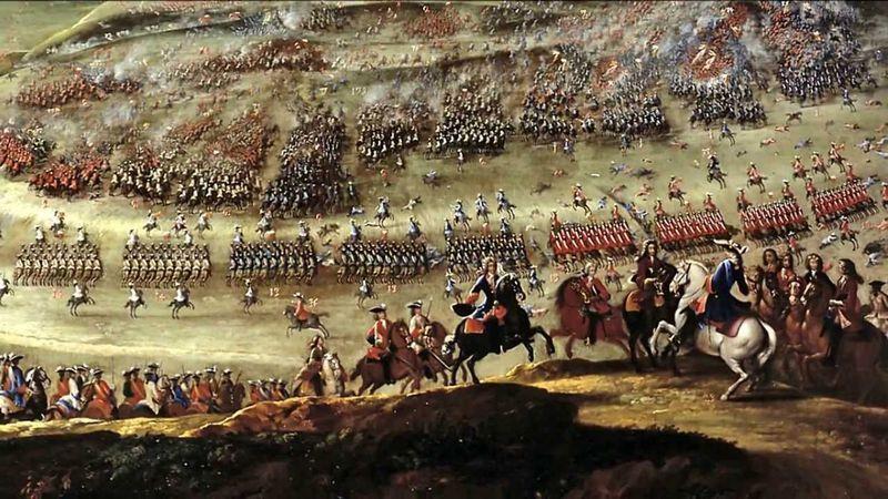 ¿A causa de qué rey sucedió la guerra de sucesión?