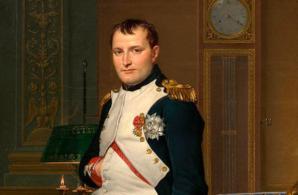 ¿De qué color era el caballo Blanco de Napoleón?