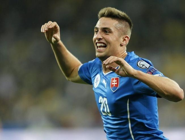 Jugador de la selección de Eslovaquia