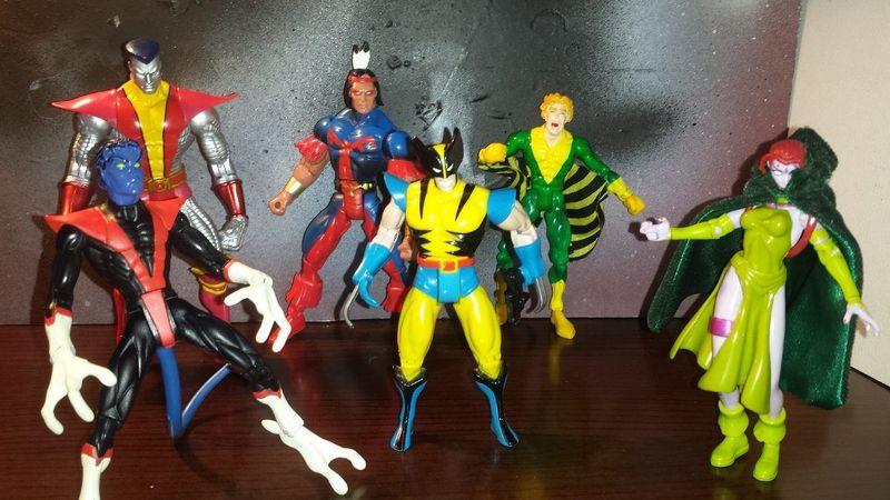 Durante un tiempo hubo algunas figuras de X-Men que eran mas caras, pero ¿por qué?