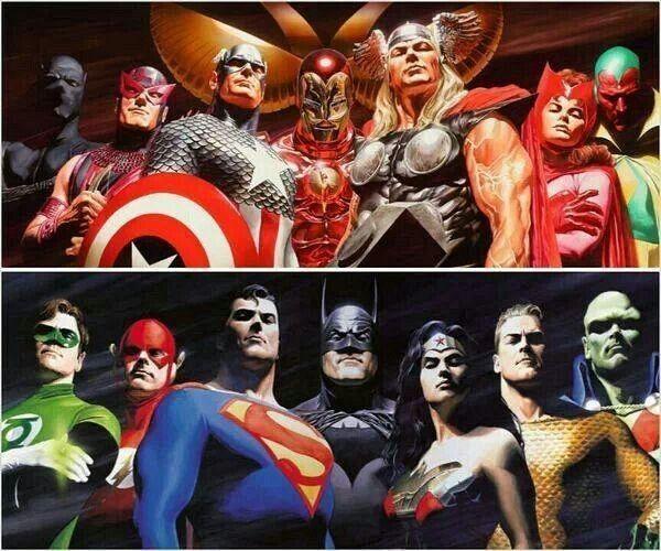 En los 90 DC y Marvel fusionaron algunos de sus personajes, ¿cuál no ocurrió?