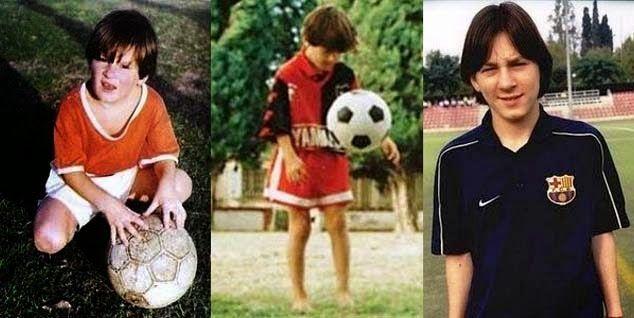 El primer equipo de Messi fue..