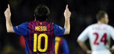 ¿Contra qué equipo marcó Leo 5 goles en un mismo partido de Champions League?
