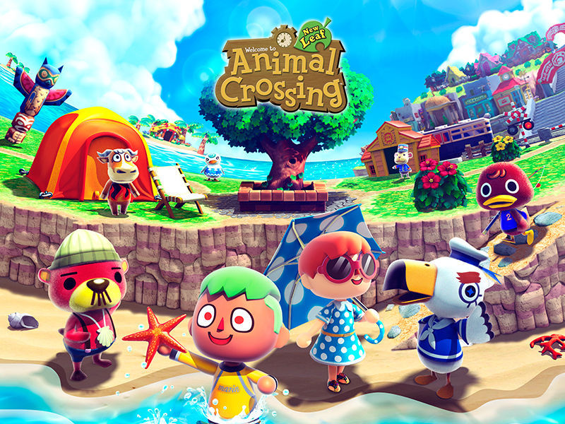 20590 - ¿Cómo juegas Animal Crossing New Leaf?