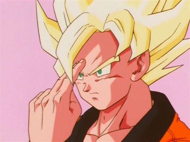 ¿En qué película usa Goku la transmisión instantánea estando muerto para salvar a Gohan?