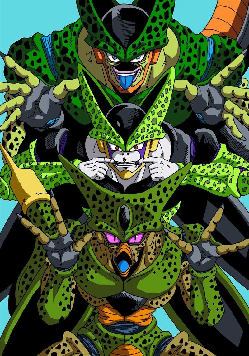 ¿A qué androide expulsa Cell en la pelea contra Gohan?