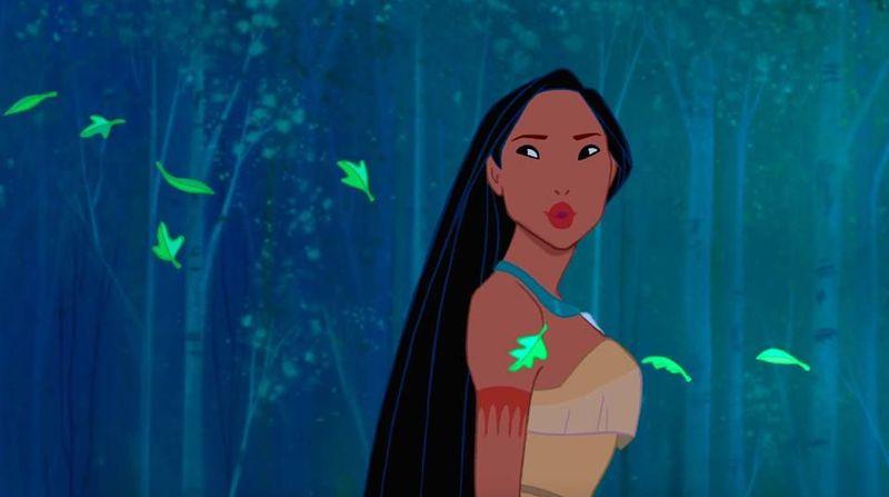 ¿De quién termina enamorada Pocahontas?