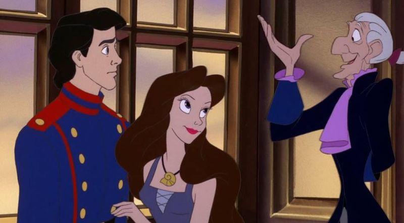 En 'La Sirenita', ¿qué nombre utiliza Úrsula cuando se transforma en humana e intenta conquistar a Eric?