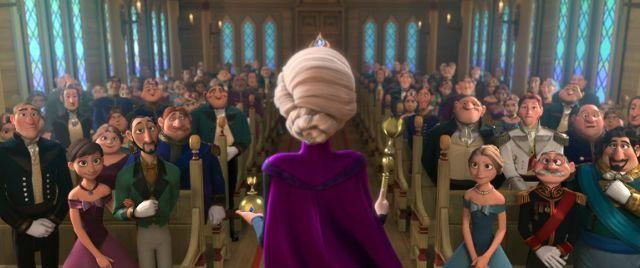 ¿Qué princesa acudió a la coronación de Elsa, en 'Frozen'?