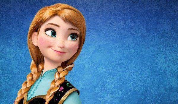 ¿Qué actriz actúa con la voz de Anna en 'Frozen'?
