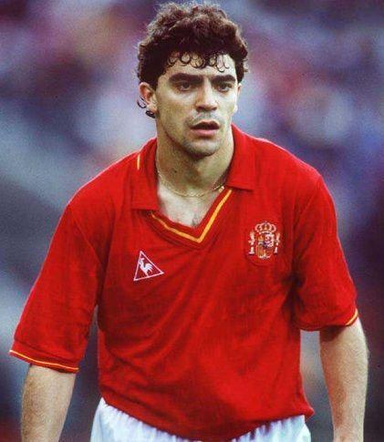 ¿Cuántos partidos jugó Manolo Sanchís con la selección española?