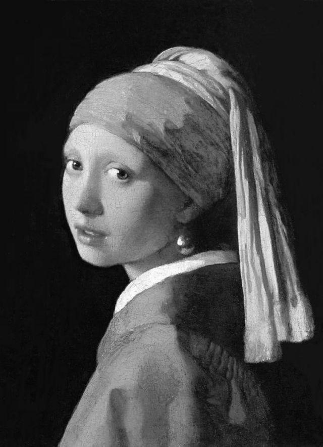 El pañuelo de 'La joven de la perla' es...