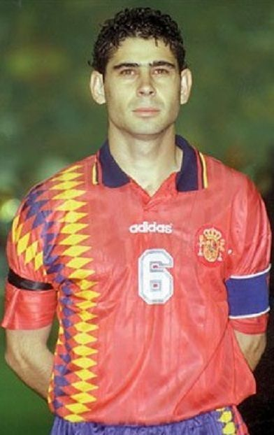 ¿Cuántos partidos jugó Fernando Hierro con la selección española?