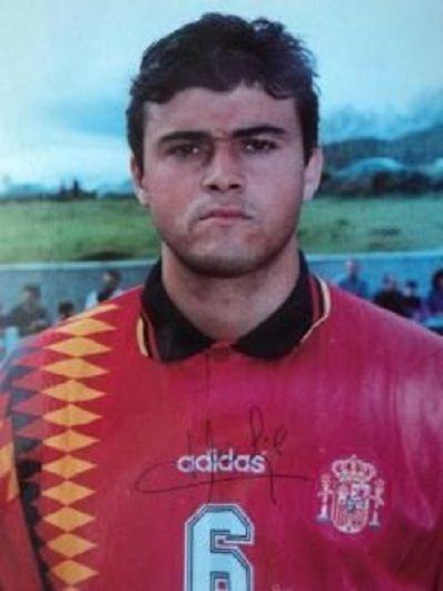 ¿Cuántos partidos jugó Luis Enrique con la selección española?