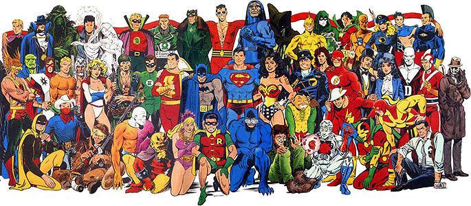 20709 - ¿Conoces a estos personajes de DC cómics?