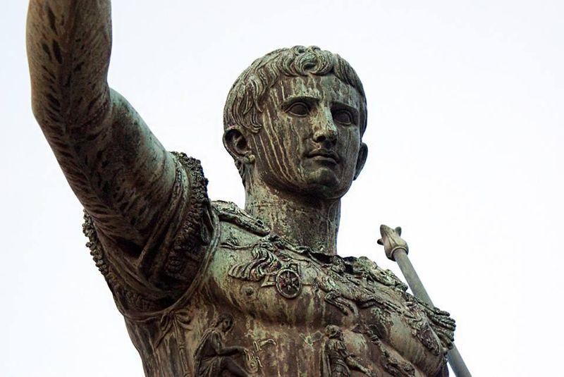 ¿Cuál fue el sucesor del emperador Julio César durante la gloriosa época romana? (Historia - 1 ESO)