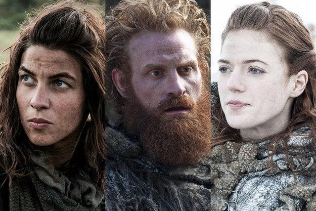 Una de salvajes ¿Osha, Tormund o Ygritte?