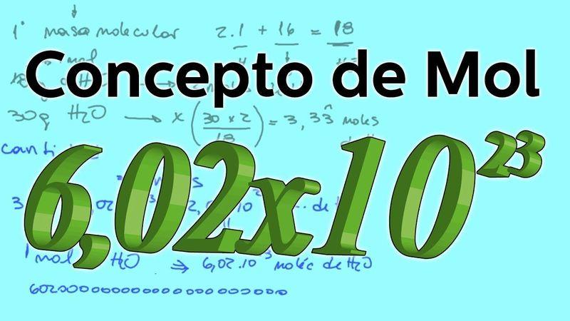 ¿Cuál es la definición de mol? (Física y Química - 3 ESO)