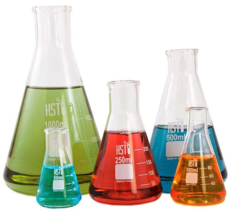¿Qué tipo de matraz se usa para la medida de volumen líquido con recipientes no aforados? (Métodos de la Ciencia - 2 ESO)