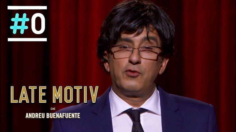 En el programa se ha bromeado con el parecido físico entre Andreu y... ¿Qué político?