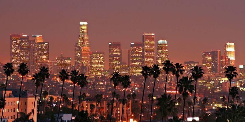 Empezamos por Norteamérica y la más sencilla, ¿Sabes donde está situado Los Angeles?