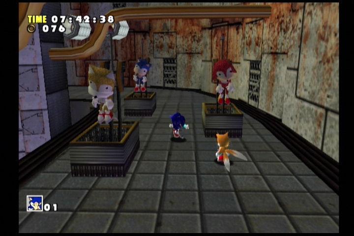 ¿Cómo se llama el nivel final que debe superar Sonic antes de su enfrentamiento con Eggman?