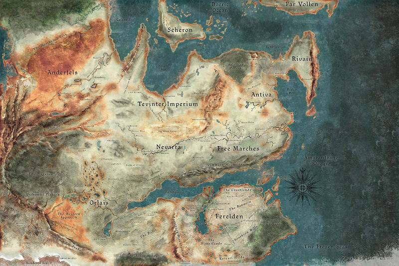 20774 - Dragon Age - ¿Cuánto sabes acerca del mundo de Thedas?