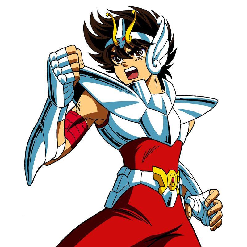¿Contra quién lucha Seiya para conseguir la armadura de Pegaso?