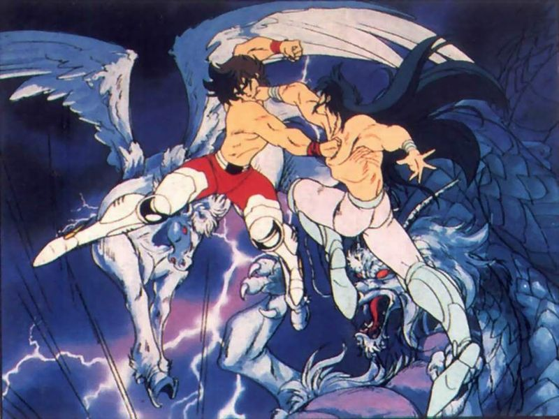¿Cómo vence Seiya a Shiryu en el torneo?