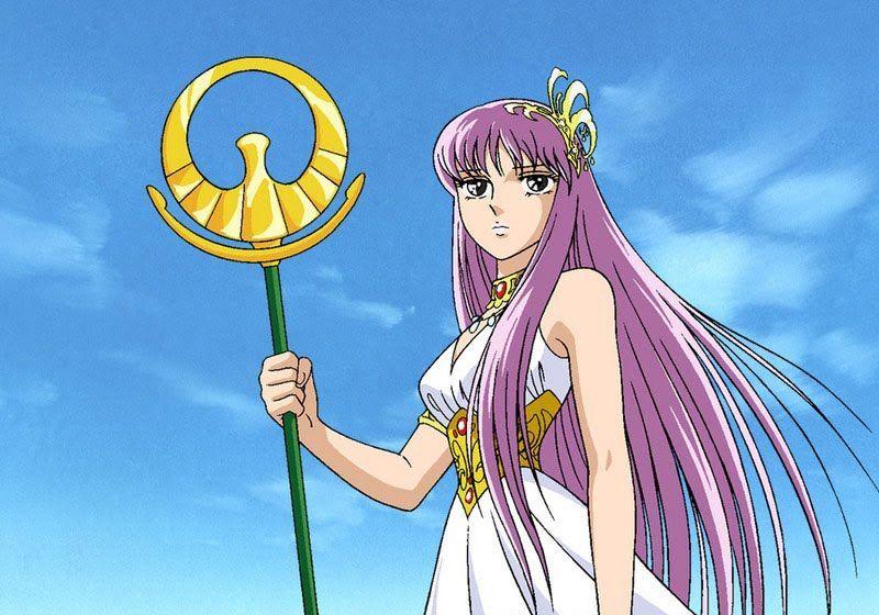¿Quién le clava una flecha a Saori en las 12 casas?