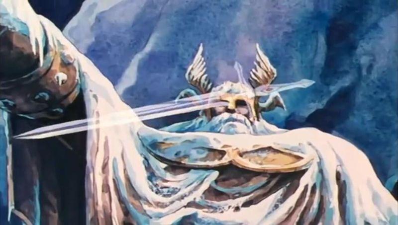 ¿Cómo consigue Seiya conseguir la espada Balmung ?