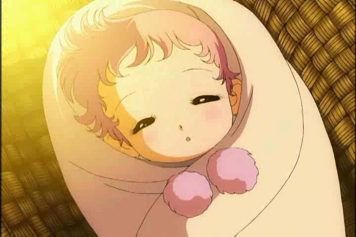 ¿Quién salva a Saori de morir a cuándo era bebé?