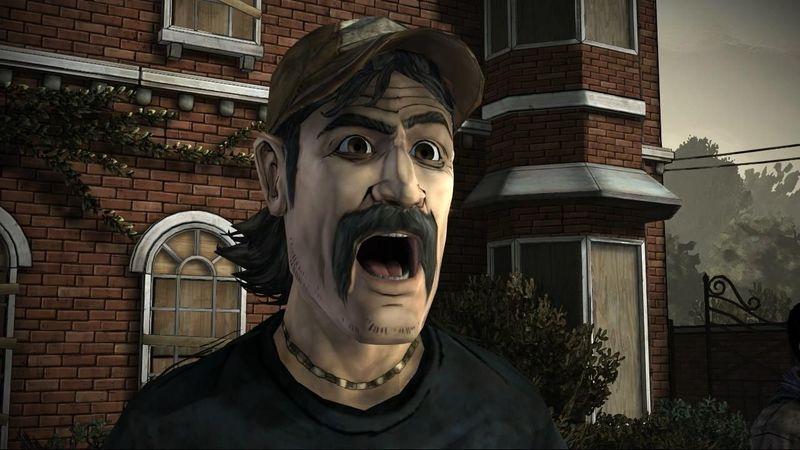 Día 1. Decides ir a hablar con Kenny ya que los escuchas enfadarse con Lilly otra vez. Dice que Lilly es gilip*llas.