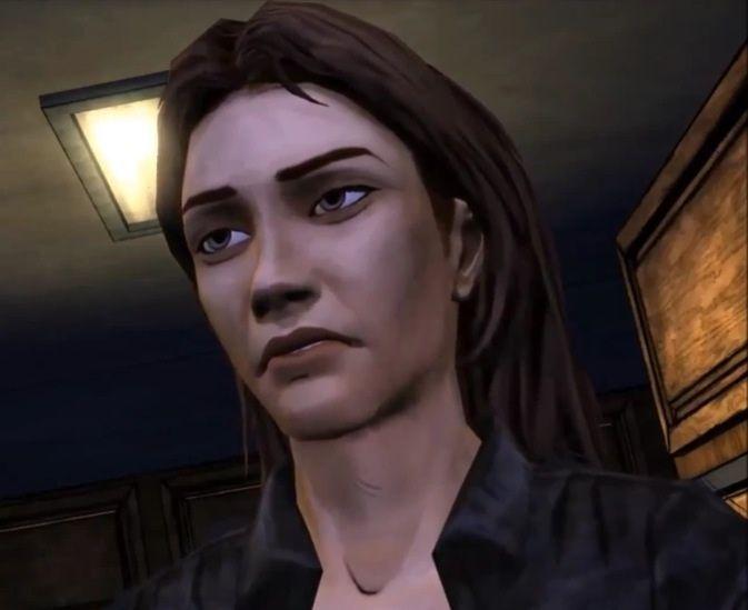 Kenny te cuenta que Lilly se había guardado un poco de comida para su padre lo cuál ella niega.